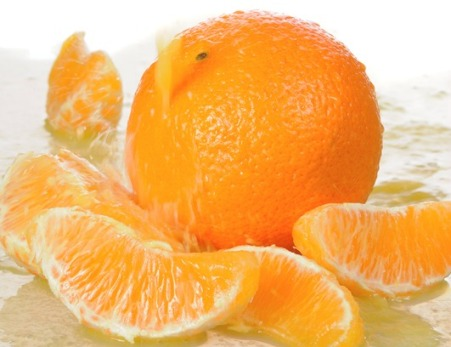 vitamin C of oranges