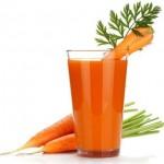 Some properties of carrot juice