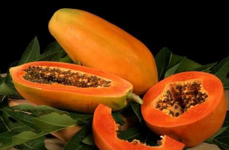 consumption of papaya