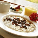 The benefits of eating porridge at breakfast