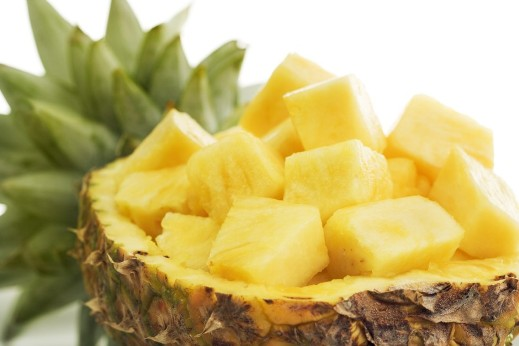 consuming pineapple