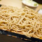 Soba noodles, a different pasta from Japan