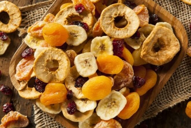 dehydrate fruits at home